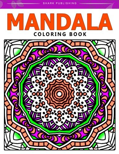 Mandala Coloring Book Stress Relieving Patterns Colorama Coloring