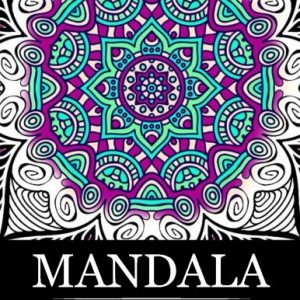 Mandala Coloring Book Stress Relieving Patterns Books For Adults Relaxation Meditation Adult