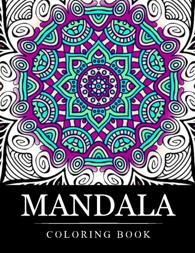 Mandala Coloring Book Stress Relieving Patterns Coloring Books