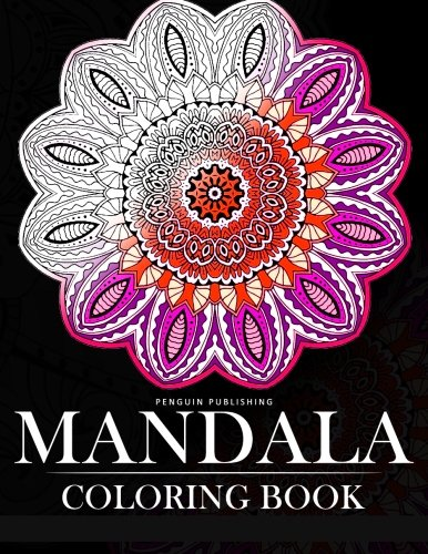 Mandala Coloring Book Relaxation Series Books For Adults Grown Ups COLORAMA