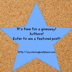 MyColoringBookPlaceAuthorGiveaway